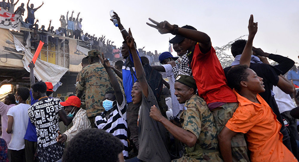 在蘇丹首都喀土穆