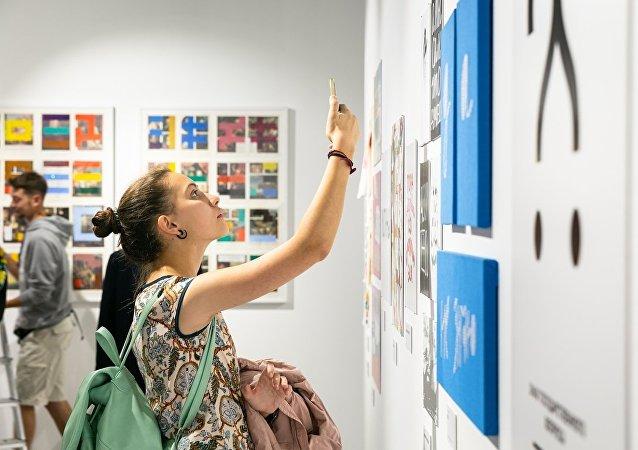 俄中書法作品展將在俄國家杜馬舉行