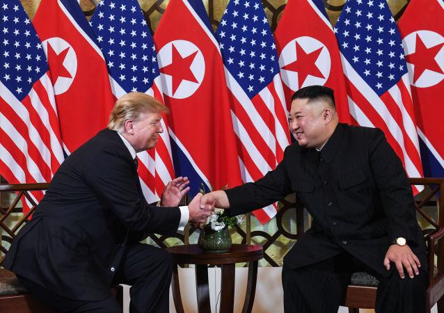 特朗普認為第三次美朝峰會將是有益的