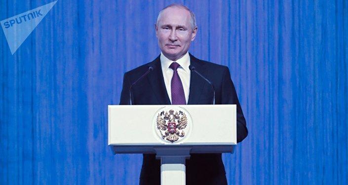 普京:打击腐败和有组织犯罪必须要果断采取行动