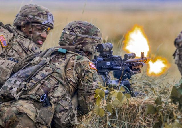 美国军人在波兰(Sabre Strike 18 军演)