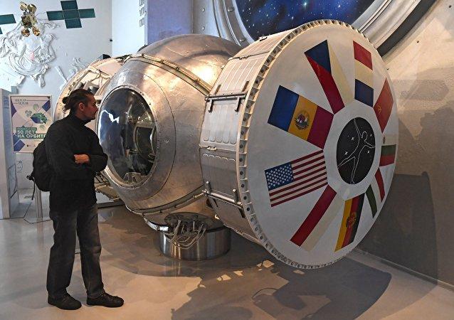 航天博物馆内陈列的器物