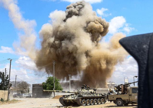 世卫组织:利比亚军事冲突的死亡人数已升至超过170人