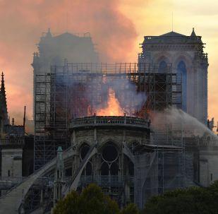 媒体:巴黎圣母院工作人员在23分钟时间内独自寻找火源