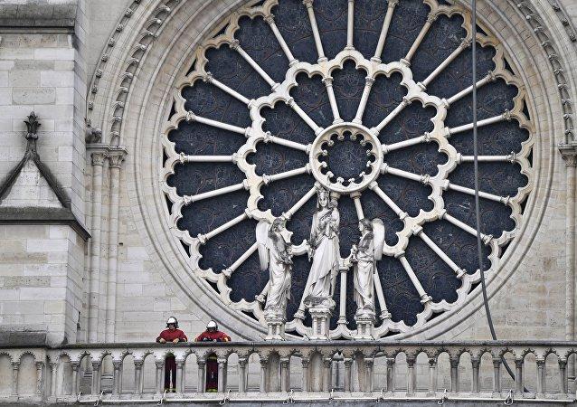 白宫:特朗普表示美国愿协助法国重建巴黎圣母院
