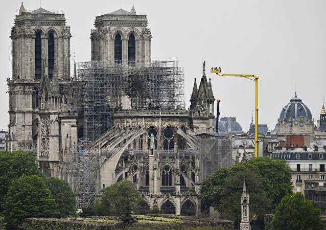 外媒:法国议会下议院通过恢复巴黎圣母院的法案