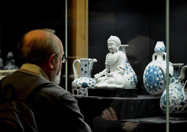 莫斯科展出罕見的中國瓷器