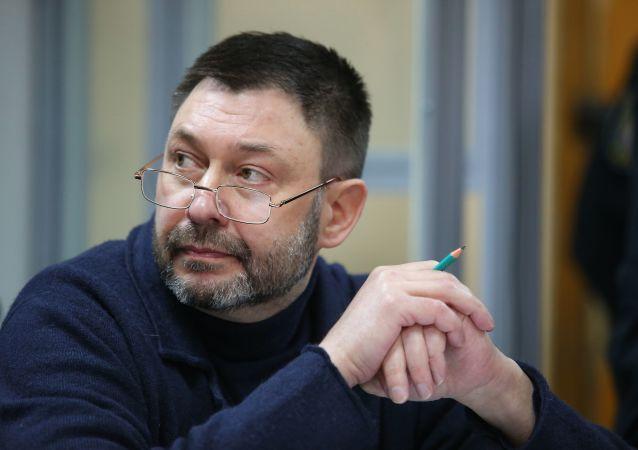 """律师:基辅区法院裁定延长""""俄新社乌克兰""""网站负责人的羁押期"""