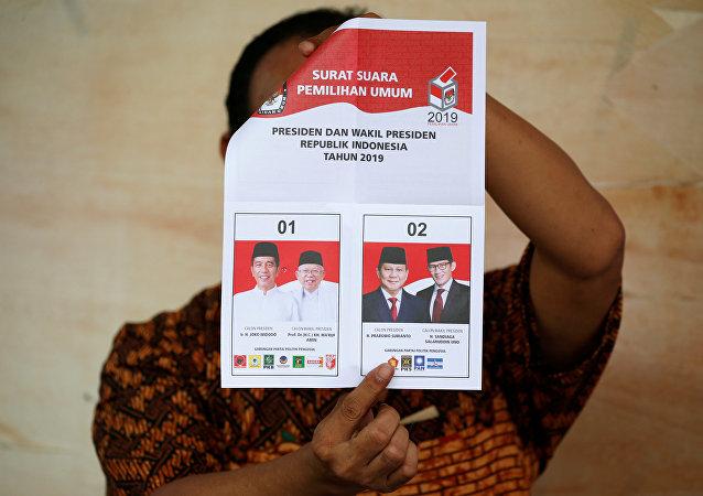 印尼警方制止抗议活动召集信息在网上散播