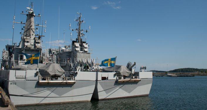 瑞典海軍的船隻