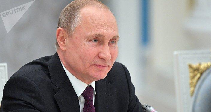 俄总统普京