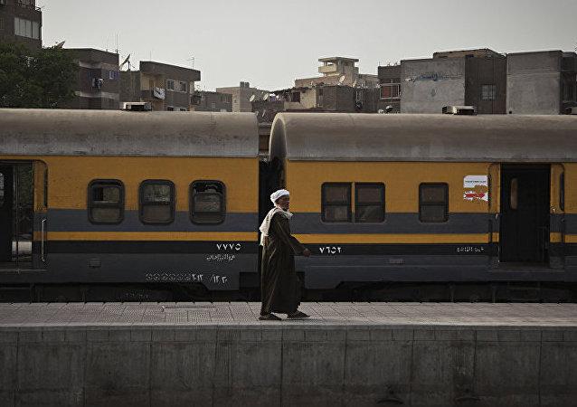 埃及火车(资料图片)