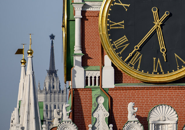 Спасская башня. Москва