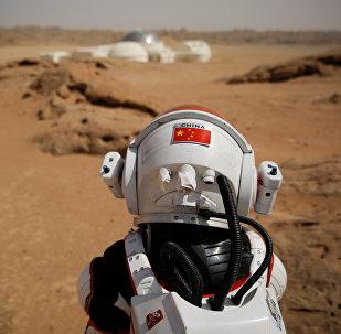 外媒:中国戈壁滩上的火星基地