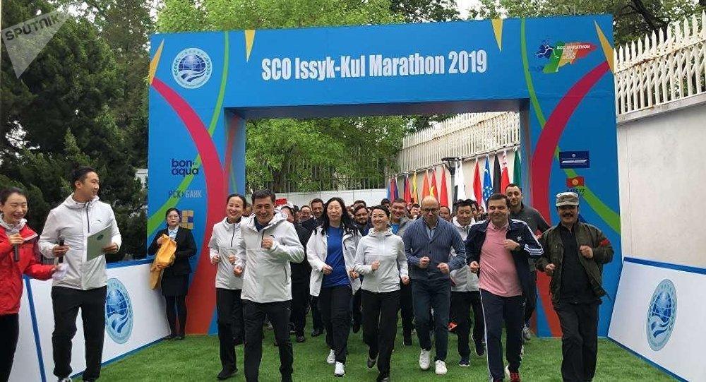 上合組織介紹一系列將在2019年舉行的馬拉松賽