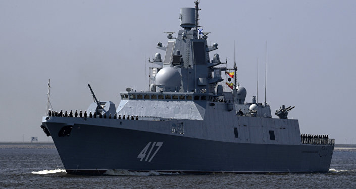 俄羅斯戈爾什科夫海軍上將號護衛艦