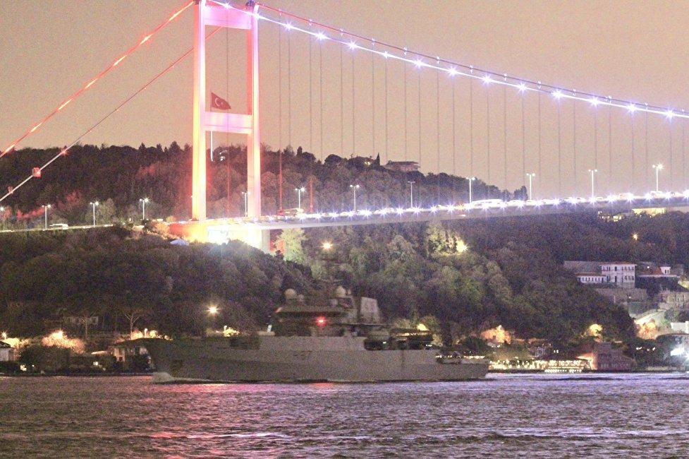 英國海軍偵察船進入黑海