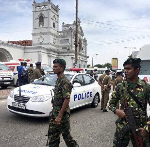 斯里兰卡警方:爆炸事件策划人已死