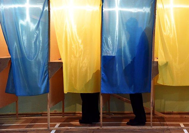 烏克蘭一名醉酒選民試圖破壞選舉