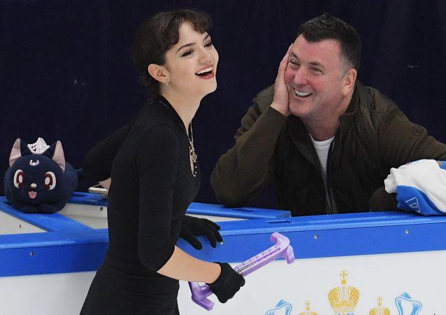 花滑运动员梅德韦杰娃