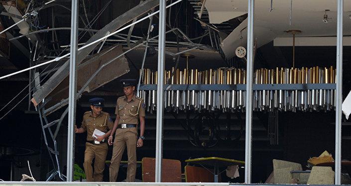 斯里蘭卡爆炸