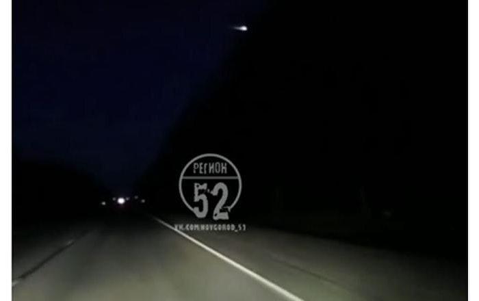 视频录下下诺夫哥罗德州陨石坠落