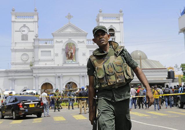 斯里蘭卡政府認為系列恐襲是當地極端組織NTJ所為