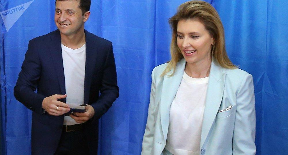 媒体报道乌克兰未来新第一夫人的简历