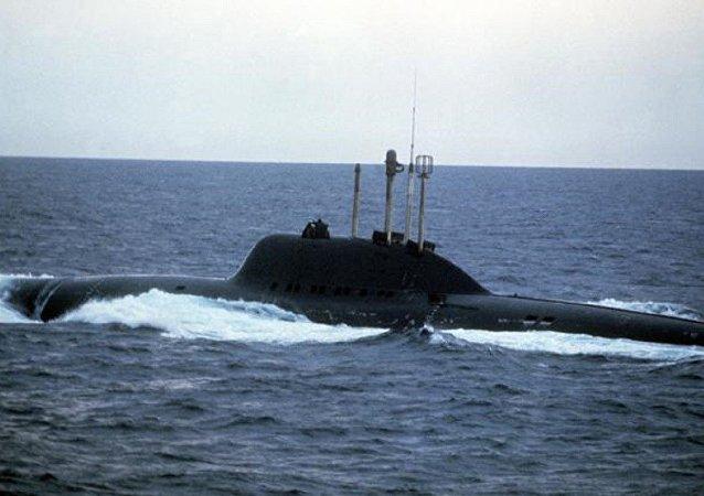 705型「七弦琴」核潛艇
