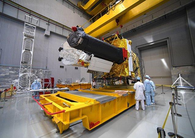 """俄航天集团:""""光谱-RG""""观测台的发射工作延期至7月12日进行"""