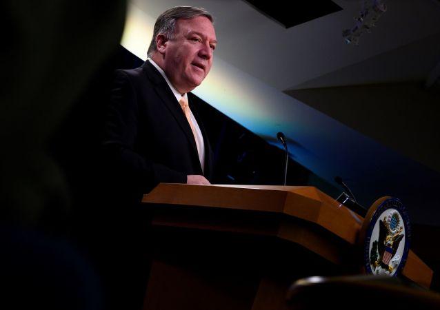 """美国务卿:美国有信心在与朝鲜的谈判中找到""""前进的道路"""""""