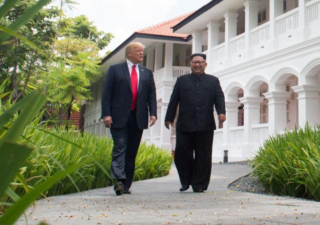 莫斯科对朝美领导人板门店会晤表示欢迎