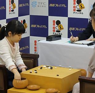 日本10歲女神童成年紀最小職業圍棋手
