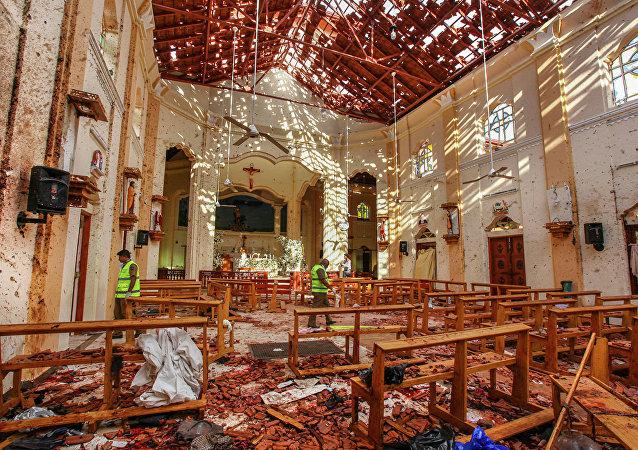 斯里兰卡官员称复活节恐袭事件的策划时间至少为7-8年