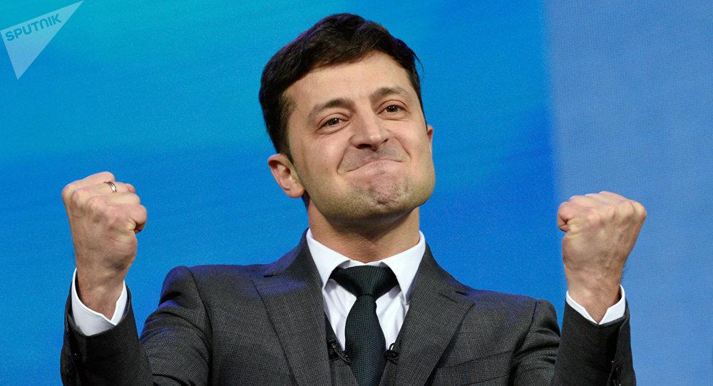 烏克蘭中央選舉委員會正式宣佈,澤連斯基贏得總統大選