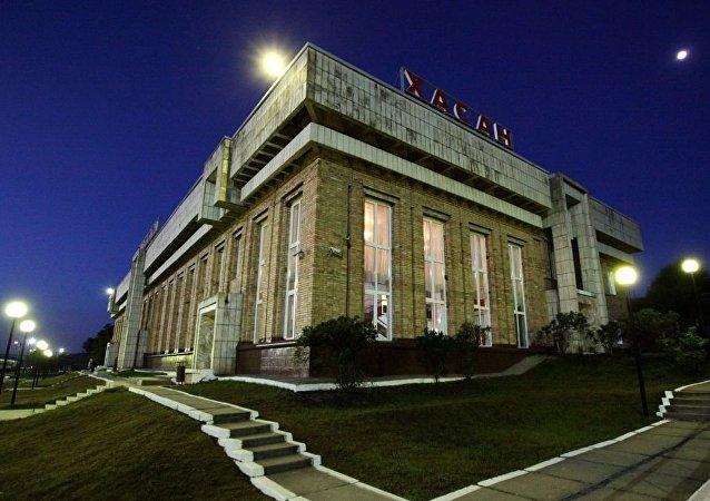 俄羅斯濱海邊疆區哈桑火車站
