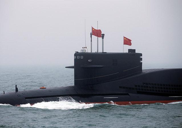 中国潜艇(资料图片)