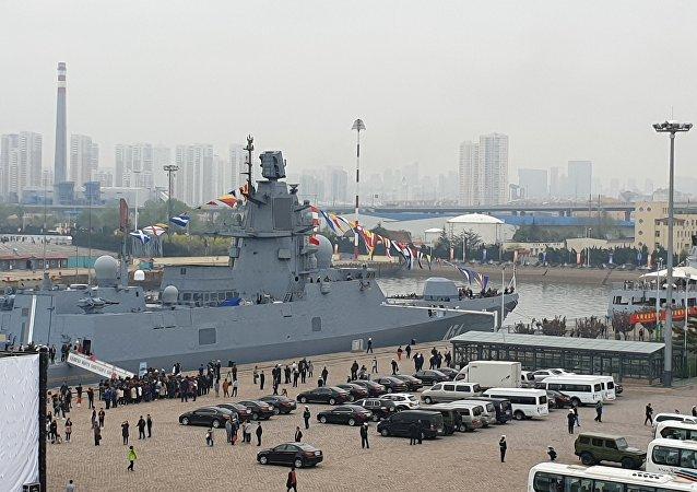 海上閱兵表明中國正在創建一支全球艦隊