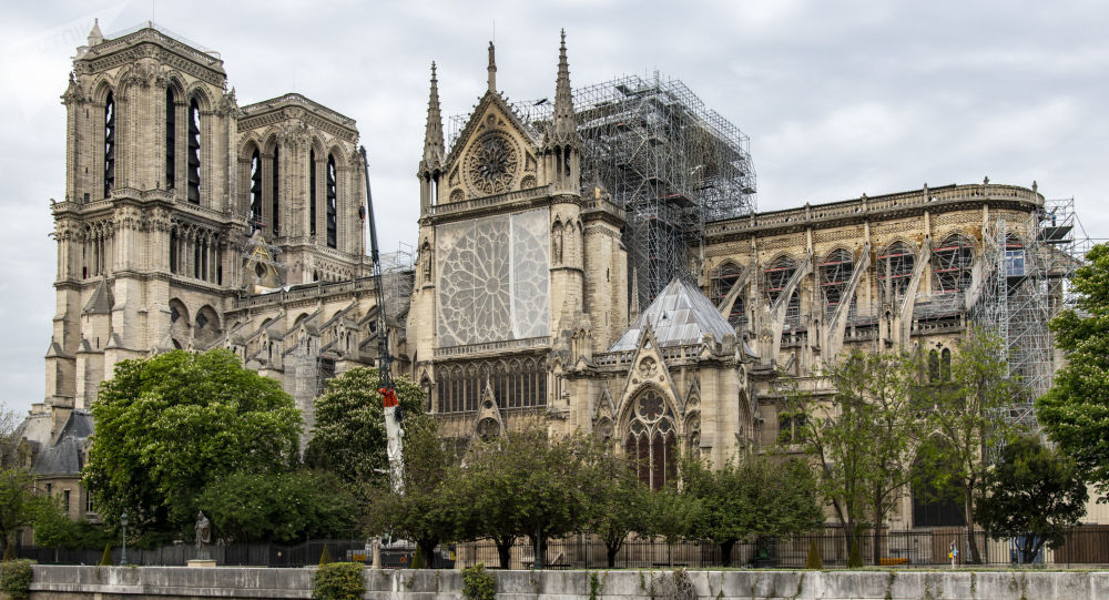 法国文化部称巴黎圣母院有再次坍塌风险