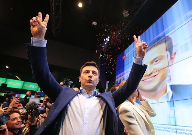 烏克蘭當選總統澤連斯基