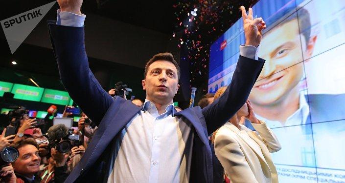 烏克蘭當選總統弗拉基米爾·澤連斯基