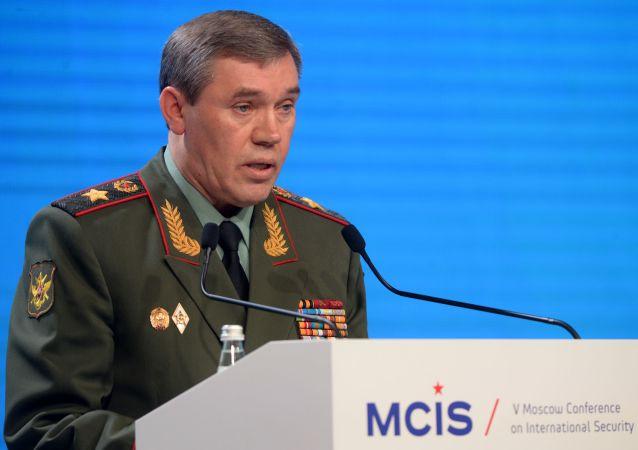 俄罗斯武装力量总参谋长瓦列里·格拉西莫夫大将