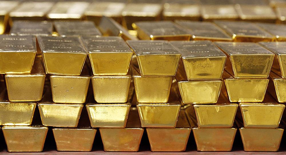 受中美贸易战影响中国减少黄金进口