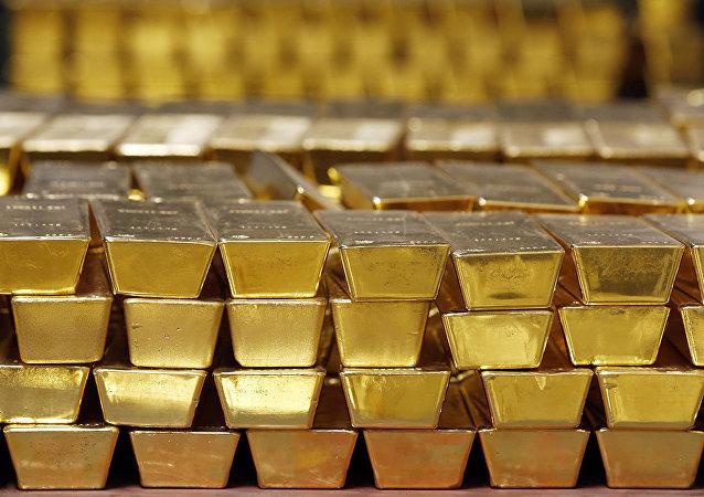 受中美貿易戰影響中國減少黃金進口