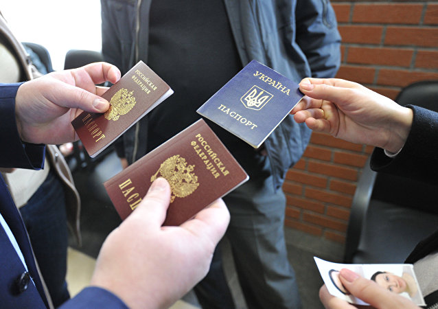 普京簡化了向頓涅茨克人民共和國和盧甘斯克人民共和國居民發放俄護照的程序