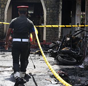 媒体:斯里兰卡警方认为发动恐袭的自杀式袭击者共有9人