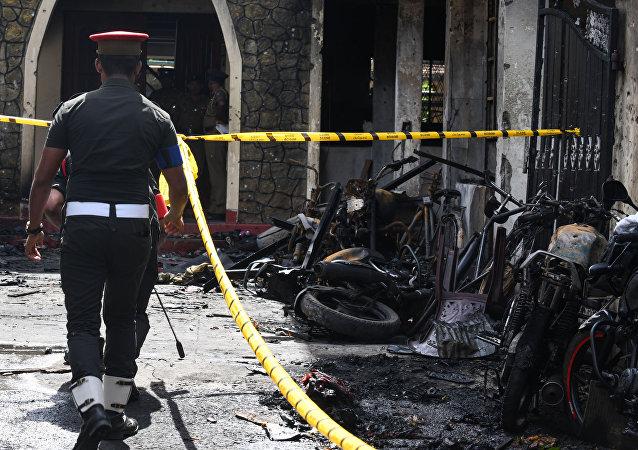 媒體:斯里蘭卡警方認為發動恐襲的自殺式襲擊者共有9人
