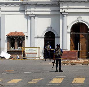 斯里兰卡准军事警察