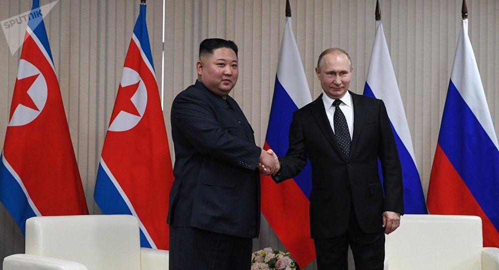 俄朝领导人商定发展两国经贸关系