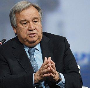 联合国秘书长安东尼奥·古特雷斯